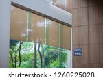 close up luxury long blind ... | Shutterstock . vector #1260225028