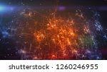 splendid 3d illustration of a... | Shutterstock . vector #1260246955
