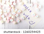 background or texture of... | Shutterstock . vector #1260254425