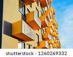 colorful apartment home and... | Shutterstock . vector #1260269332