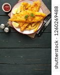 Traditional Battered Fish On A...