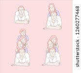 family vector collection | Shutterstock .eps vector #1260277468