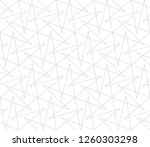 abstract geometric pattern with ... | Shutterstock .eps vector #1260303298