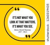 vector illustration of quote.... | Shutterstock .eps vector #1260319435