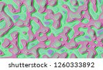 background in paper style.... | Shutterstock . vector #1260333892