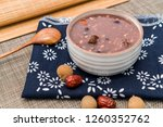 chinese northern cuisine  laba... | Shutterstock . vector #1260352762