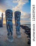 Wooden Historical Hawaiian...