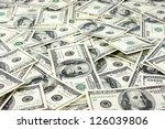 One Hundred Dollars Pile As...