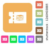 bookstore discount coupon flat...   Shutterstock .eps vector #1260403885