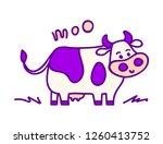 vector illustration  line... | Shutterstock .eps vector #1260413752