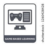 game based learning icon vector ... | Shutterstock .eps vector #1260428428