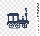 locomotive icon. trendy... | Shutterstock .eps vector #1260434842