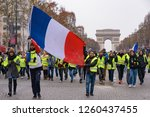 paris   france   december 15...   Shutterstock . vector #1260437455