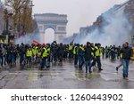 paris   france   december 15...   Shutterstock . vector #1260443902