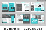 brochure creative design.... | Shutterstock .eps vector #1260503965