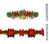 christmas elements for your... | Shutterstock .eps vector #1260504838