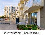 modern residential apartment... | Shutterstock . vector #1260515812