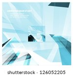 abstract colorful vector... | Shutterstock .eps vector #126052205