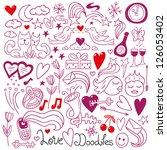 love doodles | Shutterstock .eps vector #126053402