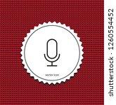 vector icon microphone