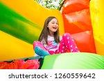 Happy Little Girl Having Lots...