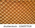orange fabric pattern | Shutterstock . vector #126057518
