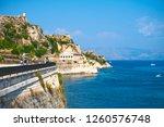 venetian fortress at kerkyra... | Shutterstock . vector #1260576748
