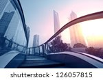 shanghai pudong city building | Shutterstock . vector #126057815