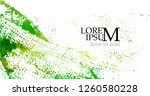green background abstract... | Shutterstock .eps vector #1260580228
