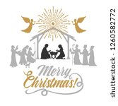 biblical illustration.... | Shutterstock .eps vector #1260582772