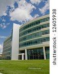modern office building in the... | Shutterstock . vector #12605938