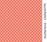vector coral polka dots... | Shutterstock .eps vector #1260610795