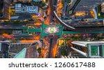bangkok skyline and skyscraper... | Shutterstock . vector #1260617488