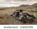 Old Abandoned Car In Nevada...