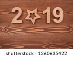 new year concepts countdown... | Shutterstock . vector #1260635422