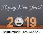 new year concepts countdown... | Shutterstock . vector #1260635728