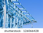 new residential construction... | Shutterstock . vector #126066428