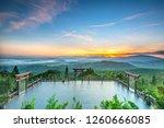 da lat  vietnam   october 30th  ... | Shutterstock . vector #1260666085