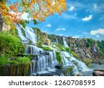 Mystical Waterfall With...