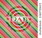 dab christmas colors style... | Shutterstock .eps vector #1260733615