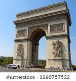 triumphal arch of the star also ... | Shutterstock . vector #1260757522