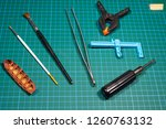 objects and tools for modeling... | Shutterstock . vector #1260763132