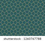 vector ornamental seamless...   Shutterstock .eps vector #1260767788