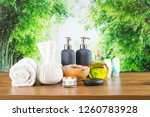 close up of beauty and fashion...   Shutterstock . vector #1260783928