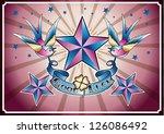 vector illustration of wild... | Shutterstock .eps vector #126086492