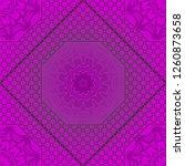 beautiful seamless flower... | Shutterstock .eps vector #1260873658
