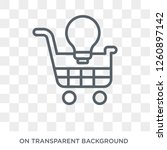 ecommerce solutions icon.... | Shutterstock .eps vector #1260897142