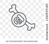 multiple myeloma icon. trendy... | Shutterstock .eps vector #1260929185