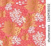 Sea Coral Color Seamless Vector ...