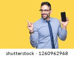 young business man showing... | Shutterstock . vector #1260962968